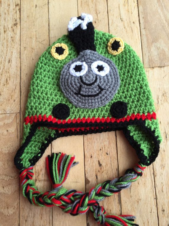 Percy the Train Hat by pboverhof on Etsy | crochet | Pinterest ...