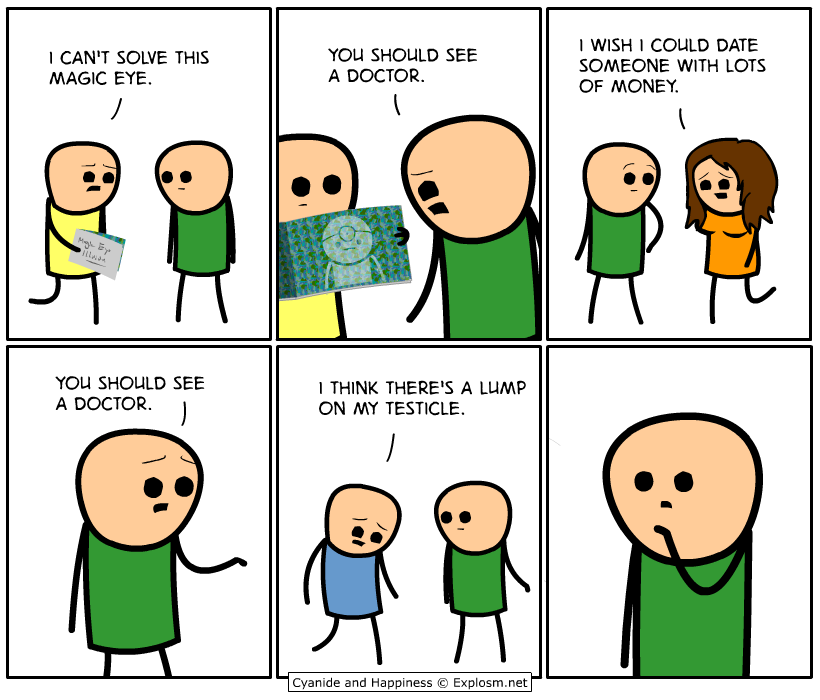 Explosm Net Cyanide And Happiness Funny Cartoons Funny Comic
