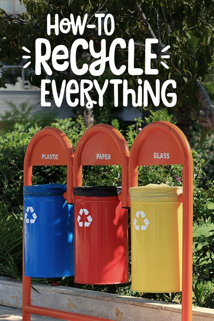 How To Recycle Almost Everything Nature S Path Recycling Recycling Information Garbage Recycling