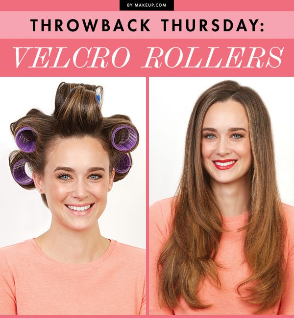 Throwback Thursday Velcro Rollers Makeup Tutorials