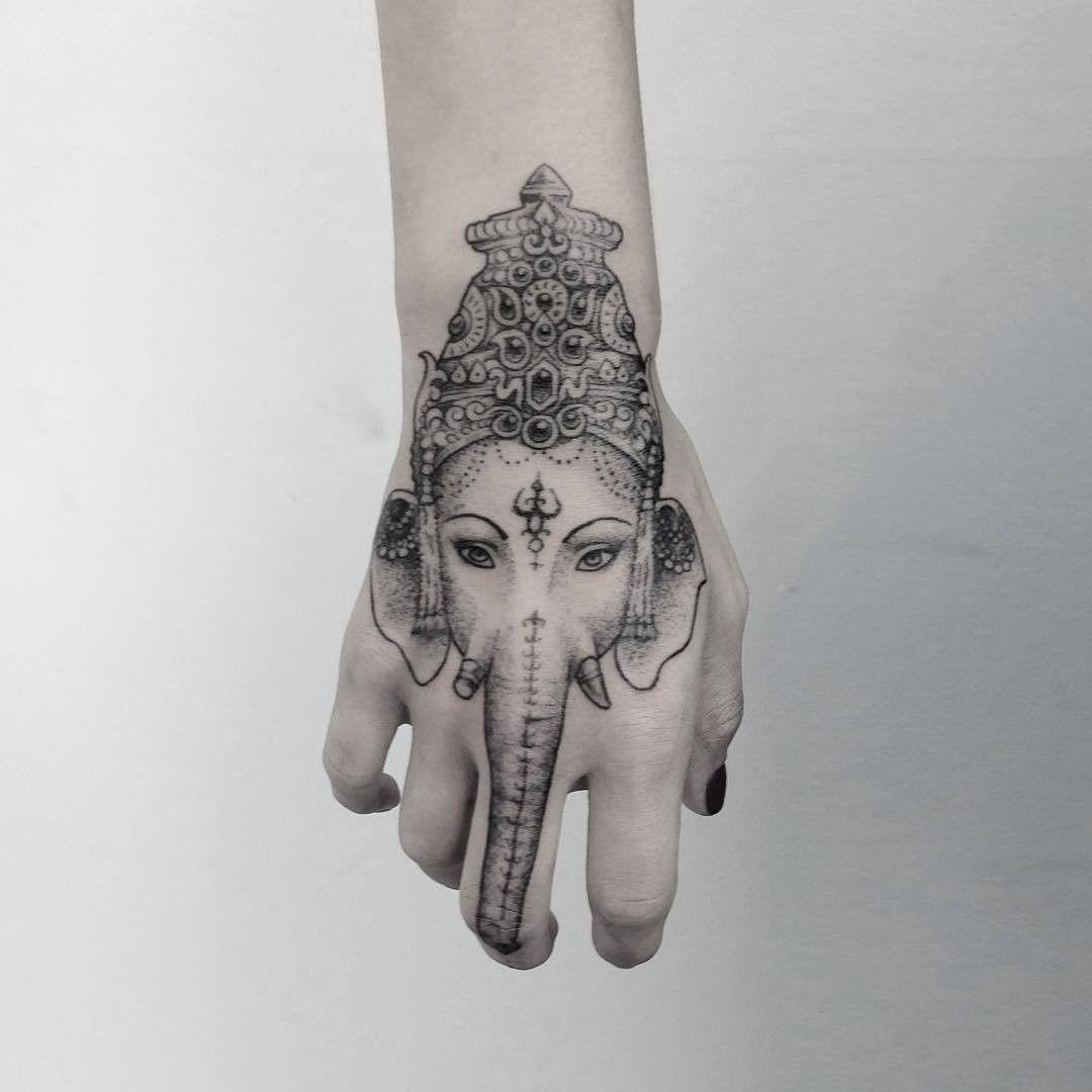 f5f0567a6 Ganesha Hand Tattoo   Tattoo   Buddhismus