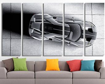 Ford Canvas, Ford Poster, Ford Print, Ford Wall Art, Sport Car Print