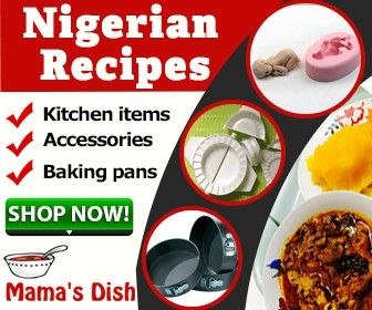 Banner Ad For Nigerian Food Site By Bossgfx Nigerian Food Recipe Sites Nigerian Recipes