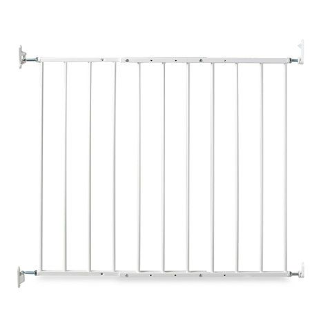 Top Of Stairs Kidco Safeway Gate In White Buybuybaby Com If