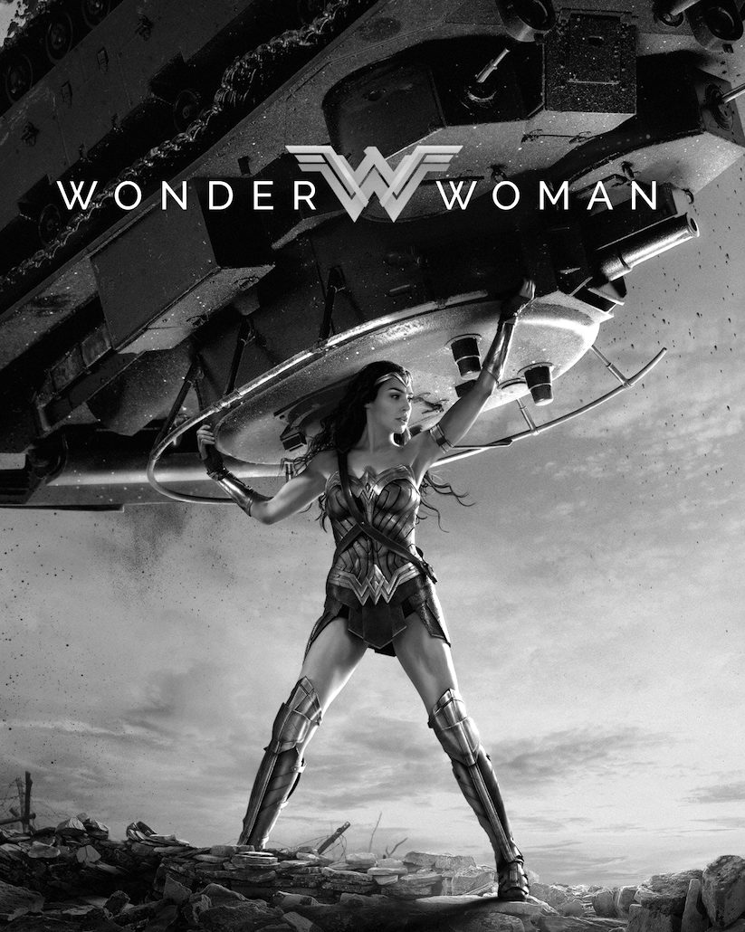 Wonder Woman Black White Wonder Woman Fan Art Wonder Woman Wonder