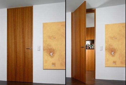 Bartels Designer Door Flush With The Wall Ceiling High With Block Jamb B34 Modern Interior Doors Wood Doors Interior Doors Interior Modern Door