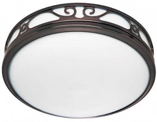 Photo of Hunter 83002 Ventilation Sona Bathroom Exhaust Fan with Light, Imperial Bronze (Bathroom Vent Fan, Exhaust Fan)