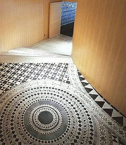 Marble mosaic tile floor. http://www.sicis.com/ | Flooring ...