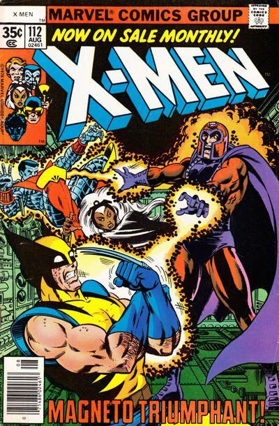 The X-Men #112 (1963 series) - cover by George Pérez