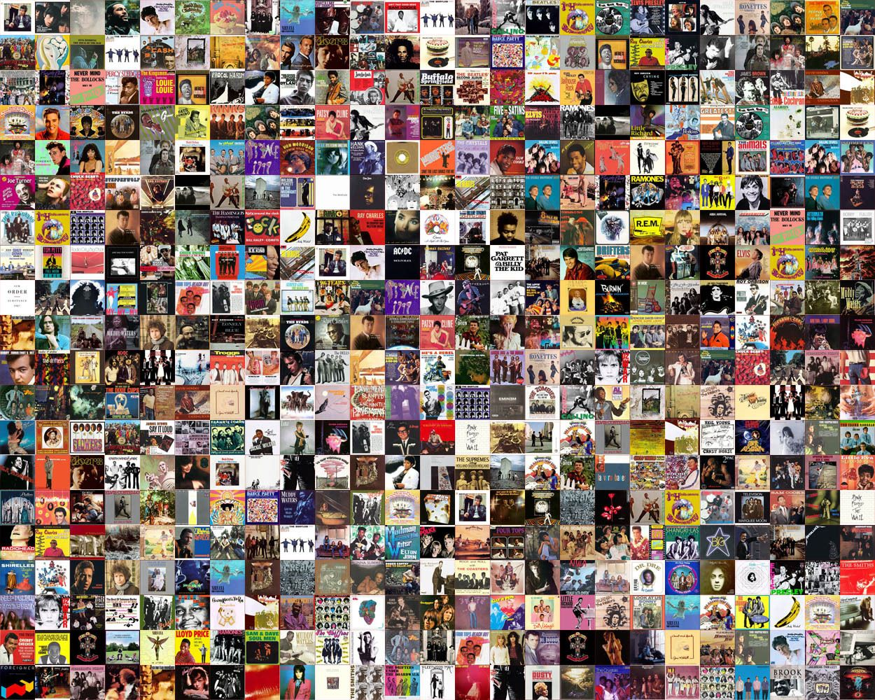500 Greatest Songs Of All Time Dengan Gambar