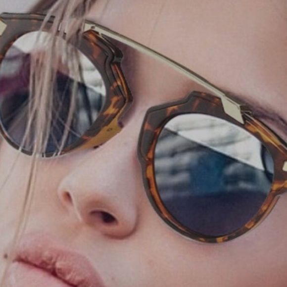 Sunglasses Retro Fashion Sunglasses that make a statement for the beach a drive in the country or a city walk. This pair will start the conversation  Accessories Sunglasses