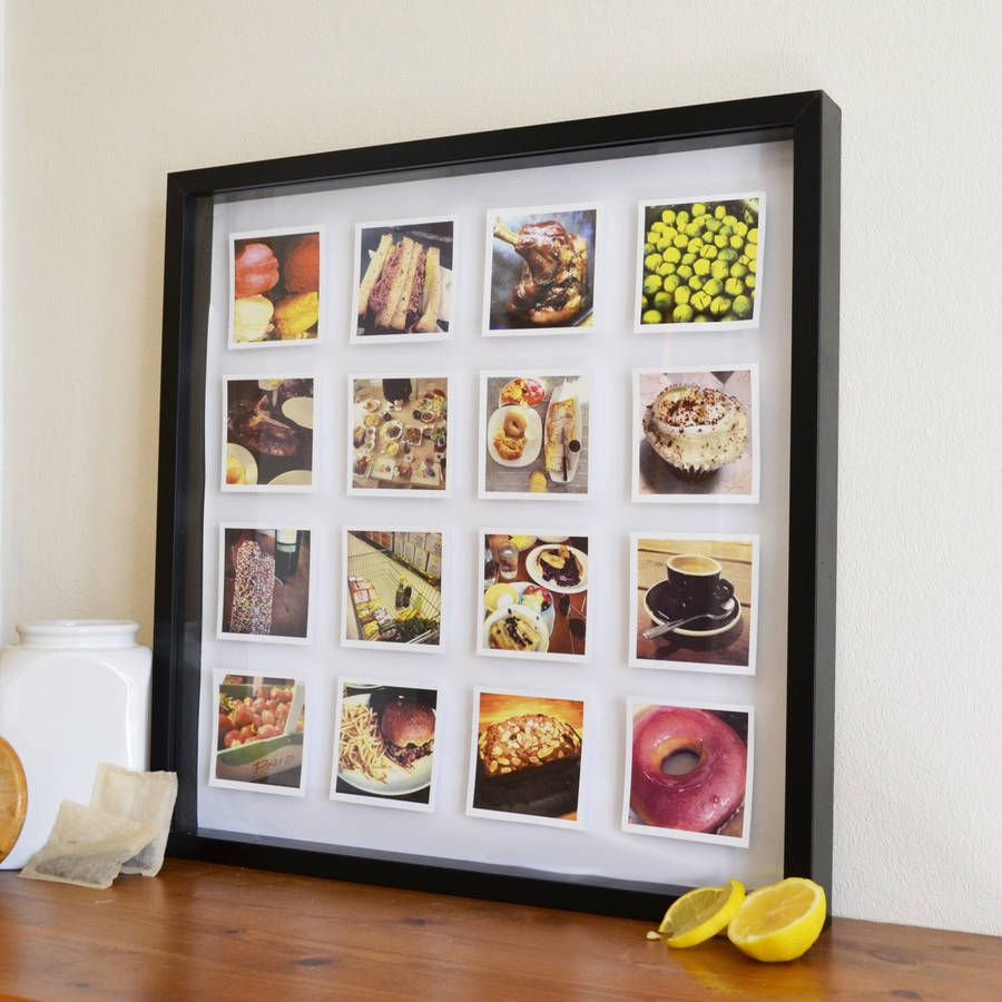 Personalised Photos 3D Box Framed Print   3d box frames, Box and ...