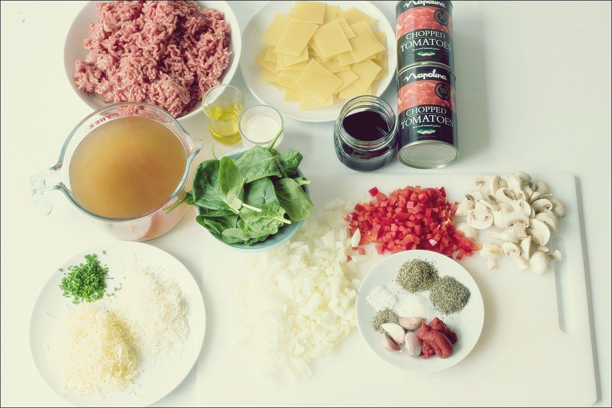 Eintopf Lasagne Suppe | Rezept Site