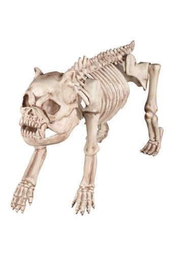 $2900 Bones the Hungry Hound Skeleton Dog Halloween Decorations