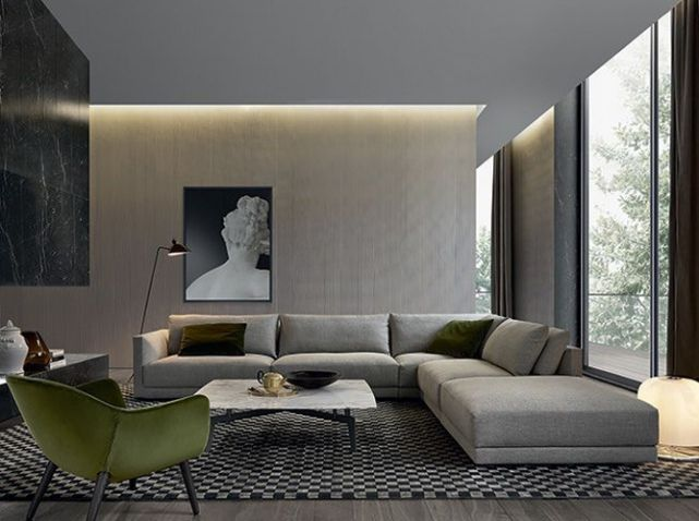The Bristol Sofa, Designed By Jean Marie Massaud For Poliform, Features  Broad, Soft And Comfortable Shapes And Is Allows For Versatile Living  Combinations.
