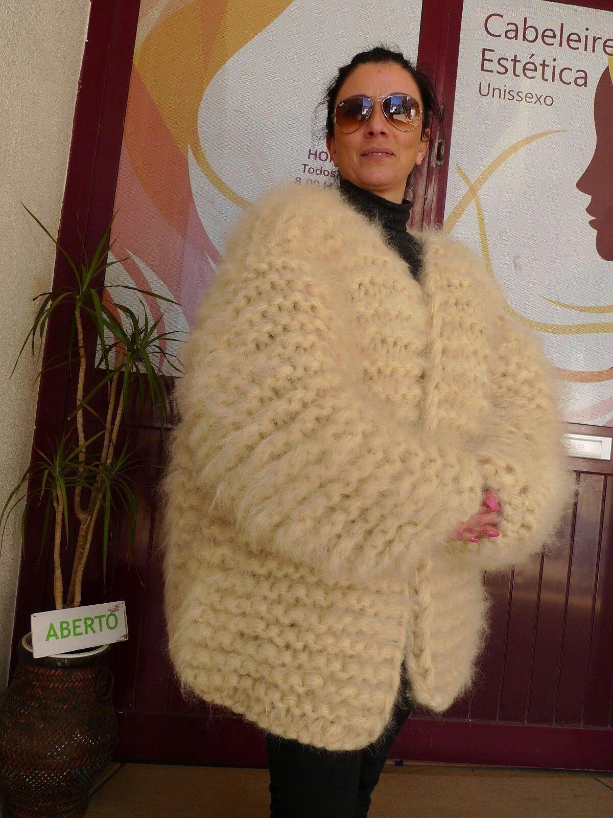 122d7d2f7d Lana knittings Fluffy Sweater