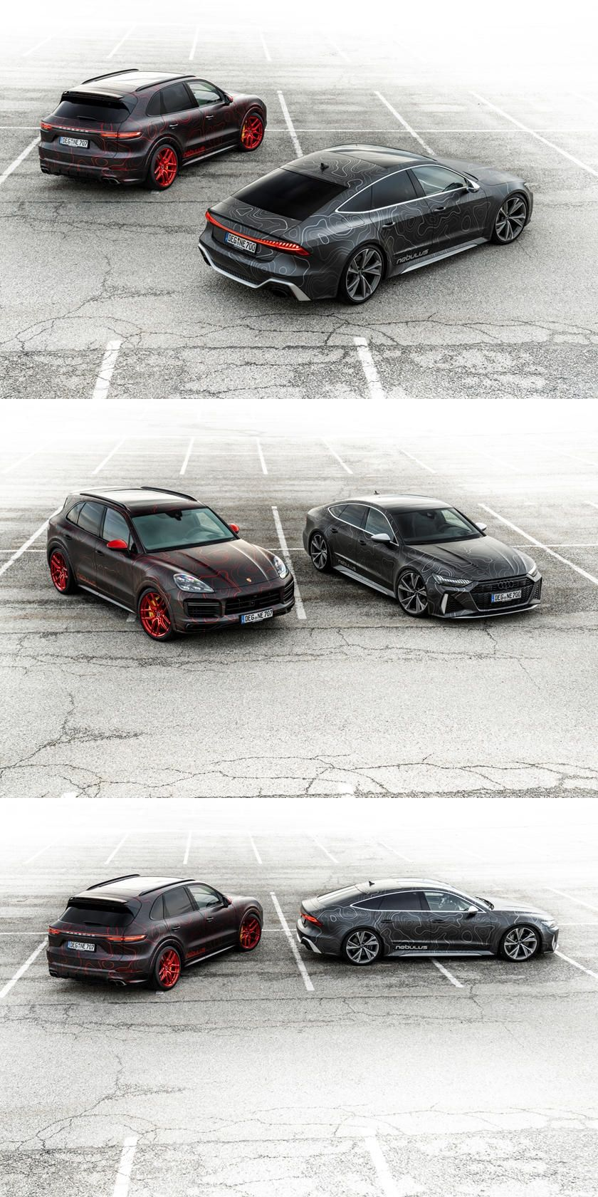 Porsche Cayenne Gets Extreme Makeover And 1000 HP. Dubbed the Nebulus Porsche's luxury SUV gets a wild transformation.