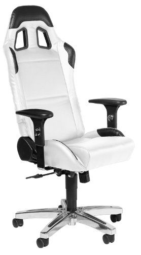 Playseat Office Chair (White) Chairs For PC Gamers