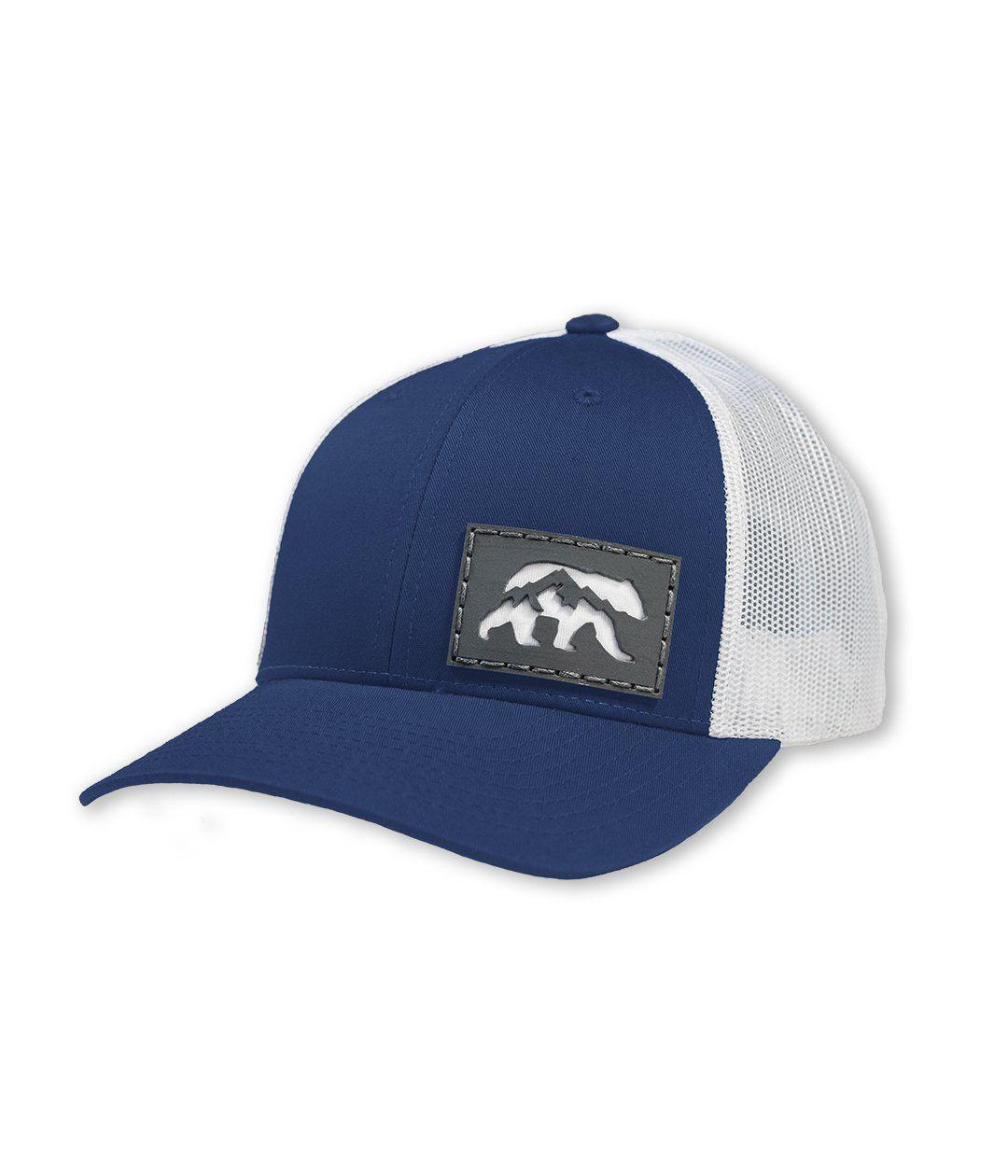 Bruin Trucker Hat Royal Blue White Trucker Hat Hats Blue And White