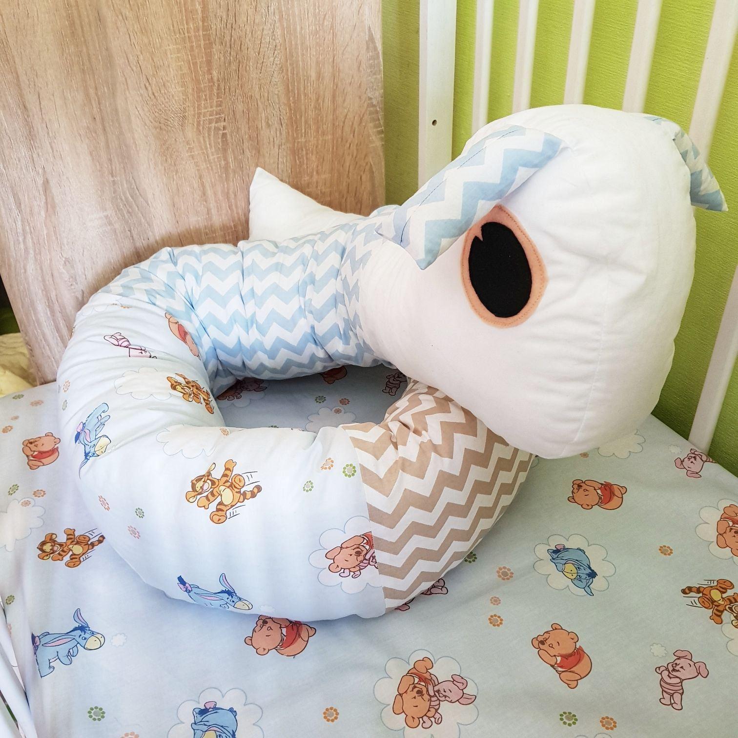 Baby Bed bumper crib cot nursing pillow