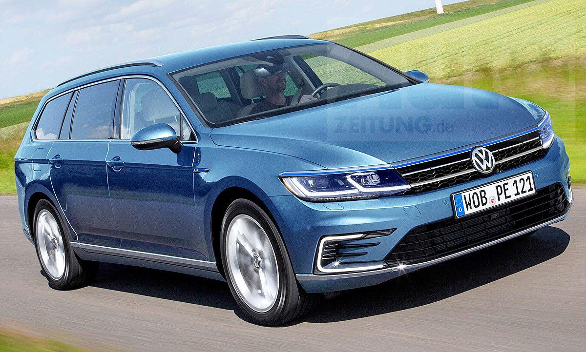 Vw Passat B8 Variant Facelift 2019 Neue Informationen Volkswagen Passat Volkswagen Vw Passat