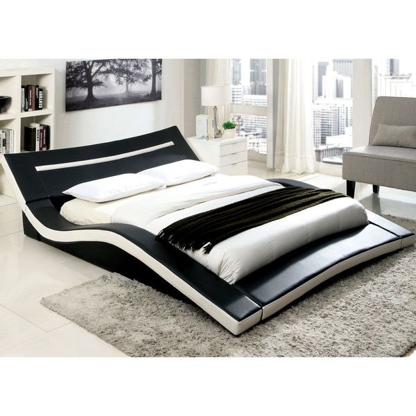 Beds Cm 7125 Upholstered Platform Bed Modern Bed Furniture