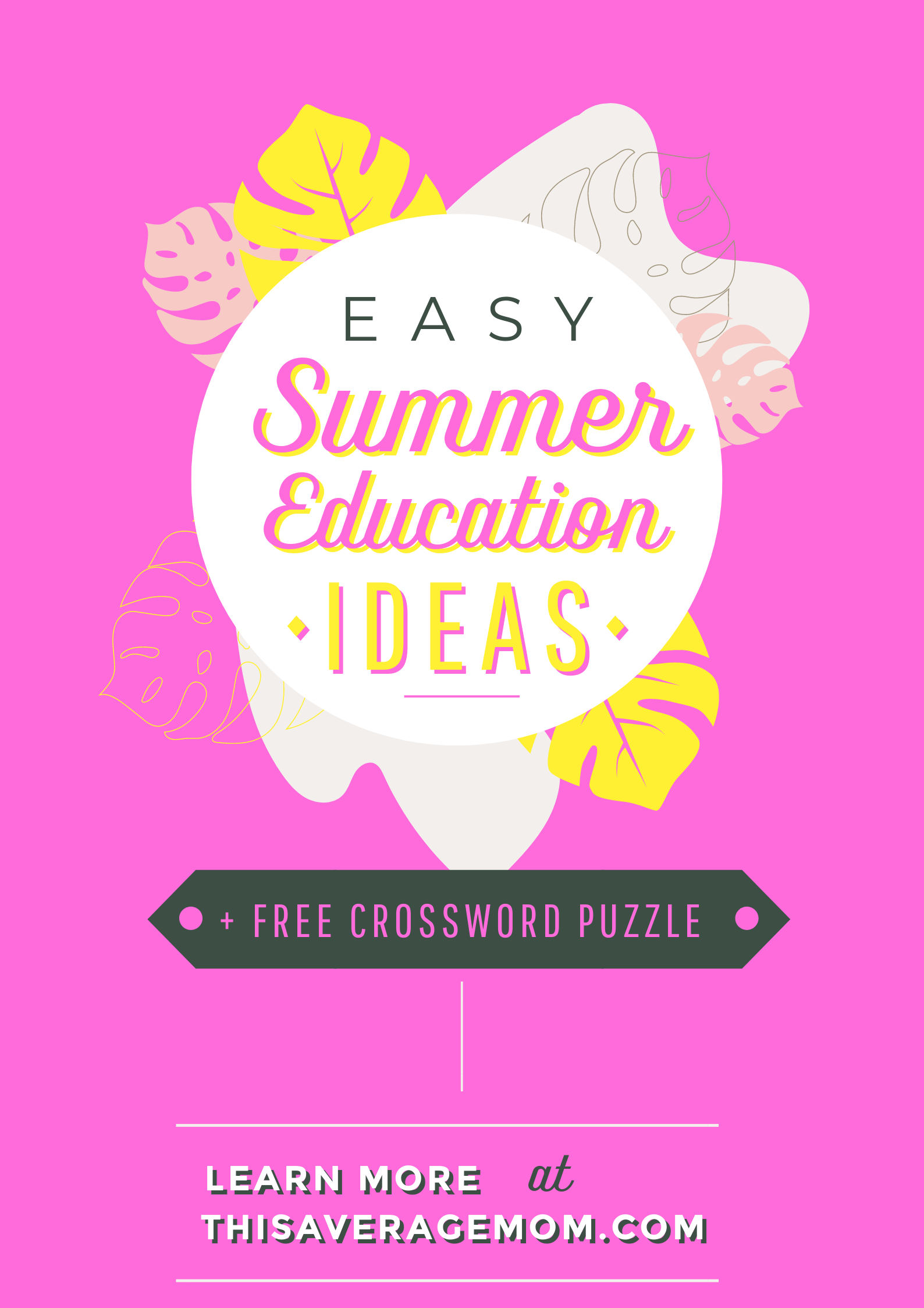 Want A Free Crossword Puzzle Worksheet For Your Kids This