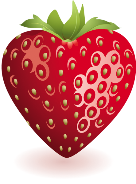 684aa552b red week Heart Strawberry Clipart | My Kids | Strawberry clipart ...
