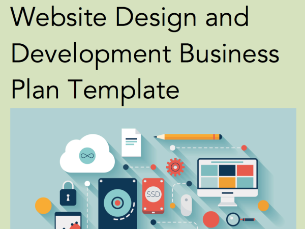 Website Design And Development  Business Plan Templates