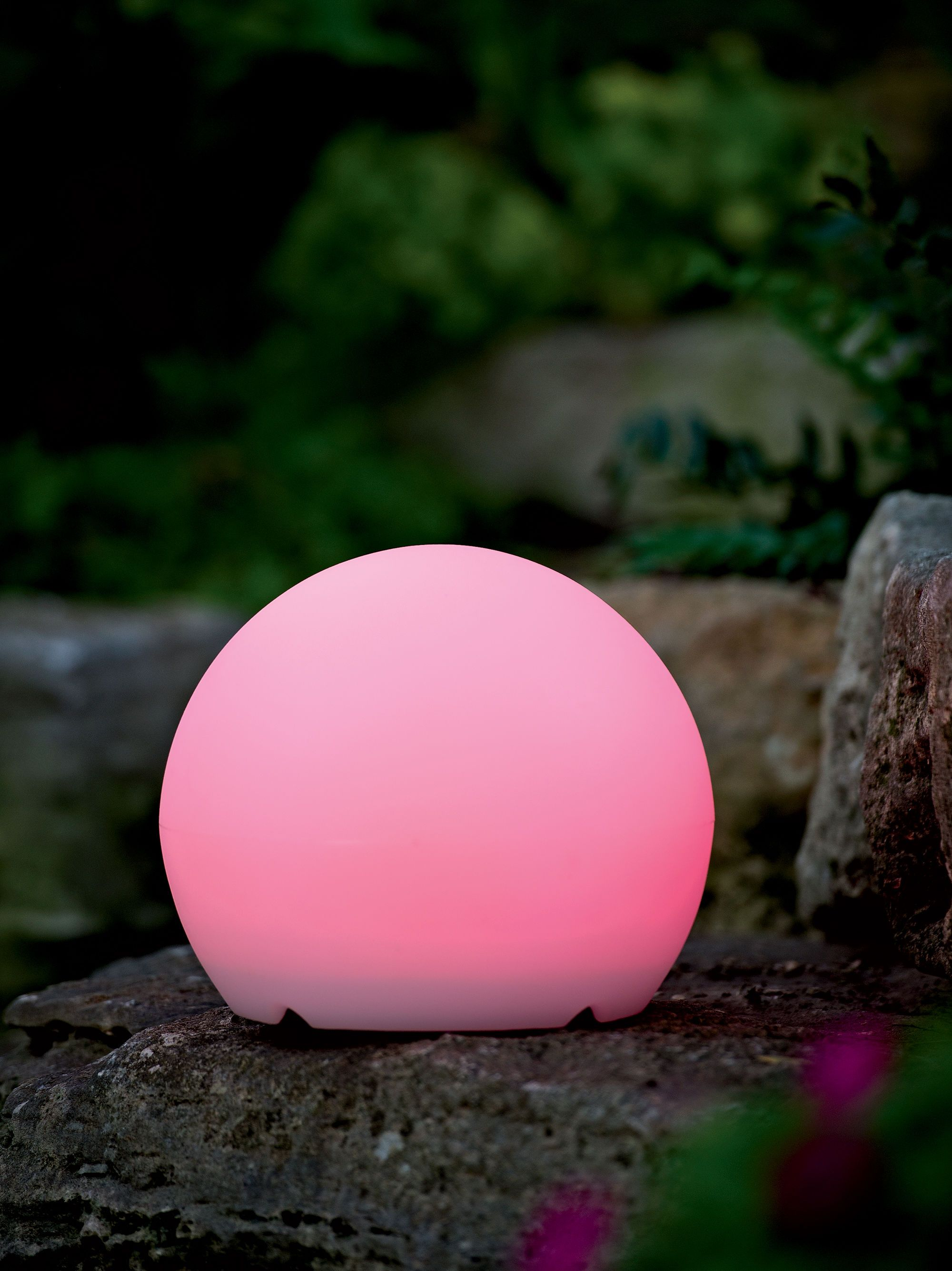 Solar Garden Decor: Color Changing Solar Sphere   #Gardeners.com #wishlist