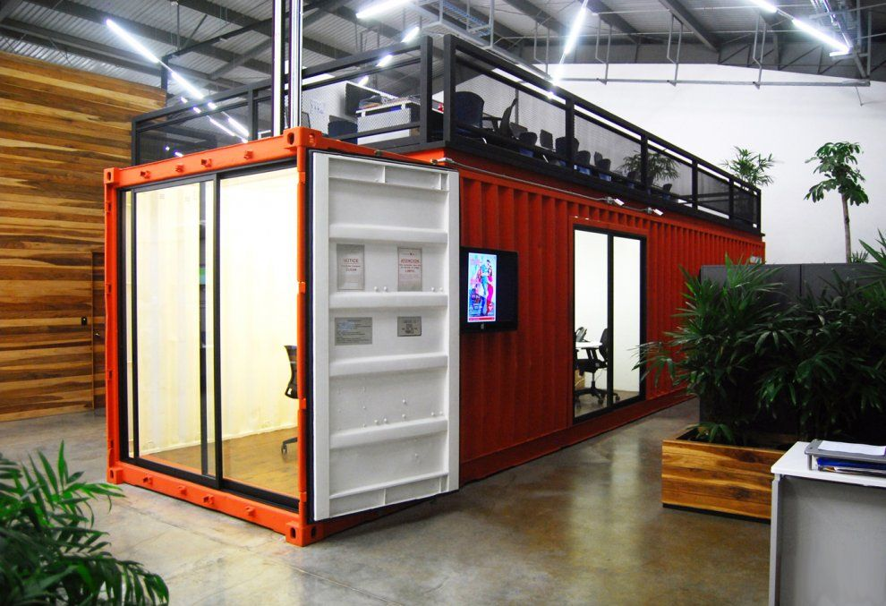 Pictures equipos sistemas architizer contenedores for Contenedores de oficina