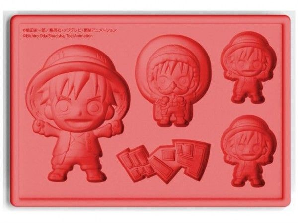 One Piece Anime Ice Cube Trays