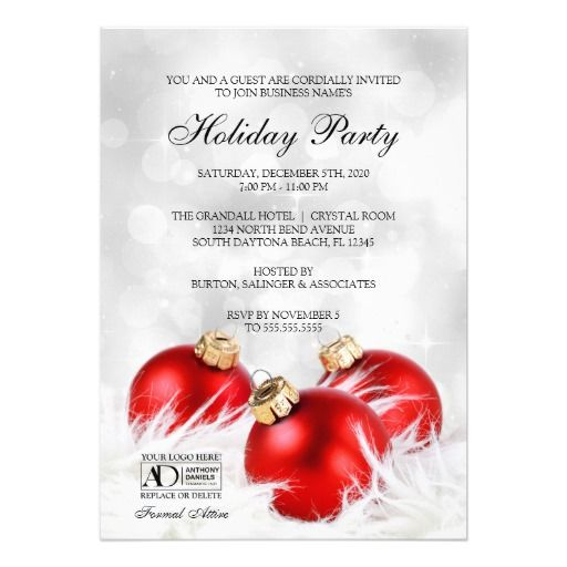 Business Christmas Party Invitations Party invitations and Holiday - christmas luncheon flyer