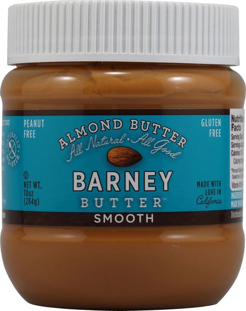 Barney Butter Almond Butter Smooth 10 Oz Barney Almond Butter Butter Almond Butter