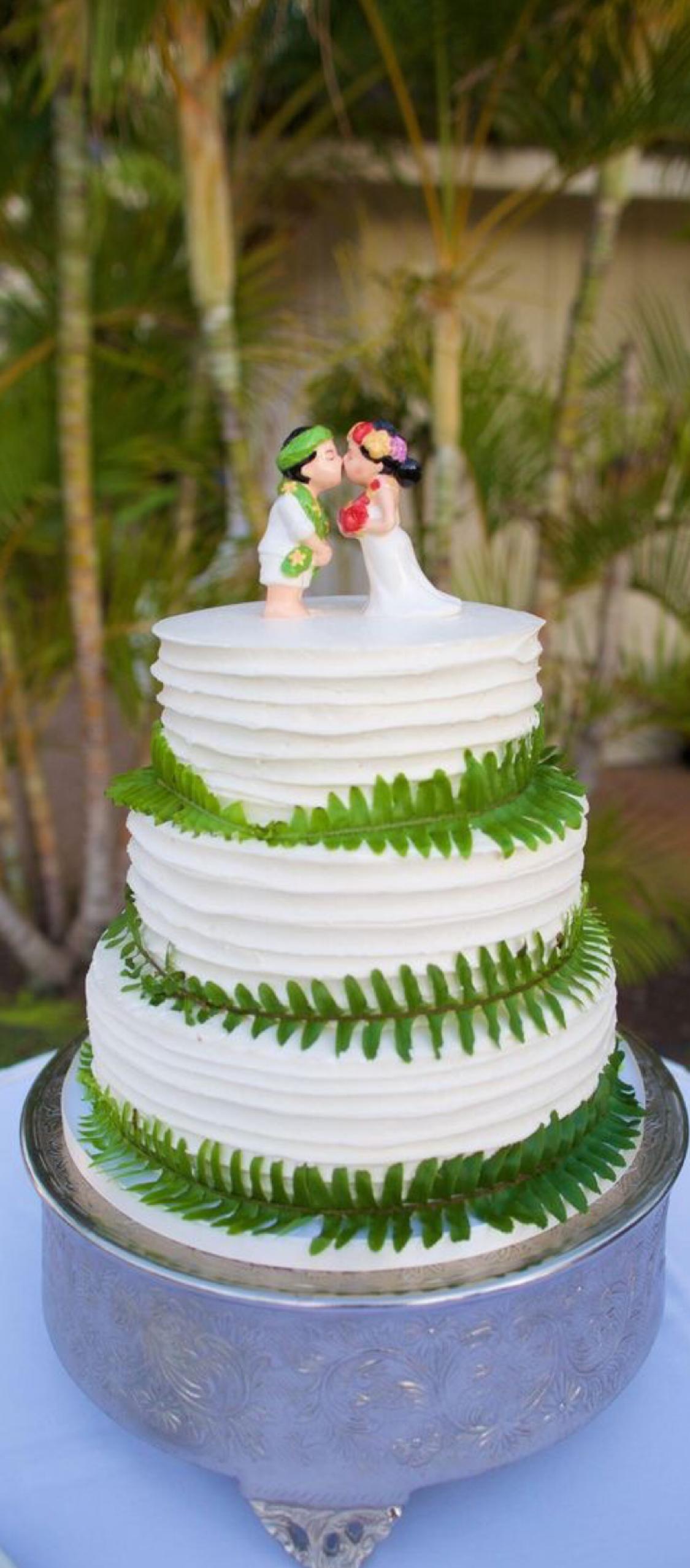 The Smarter Way to Wed Cool wedding cakes, Hawaiian