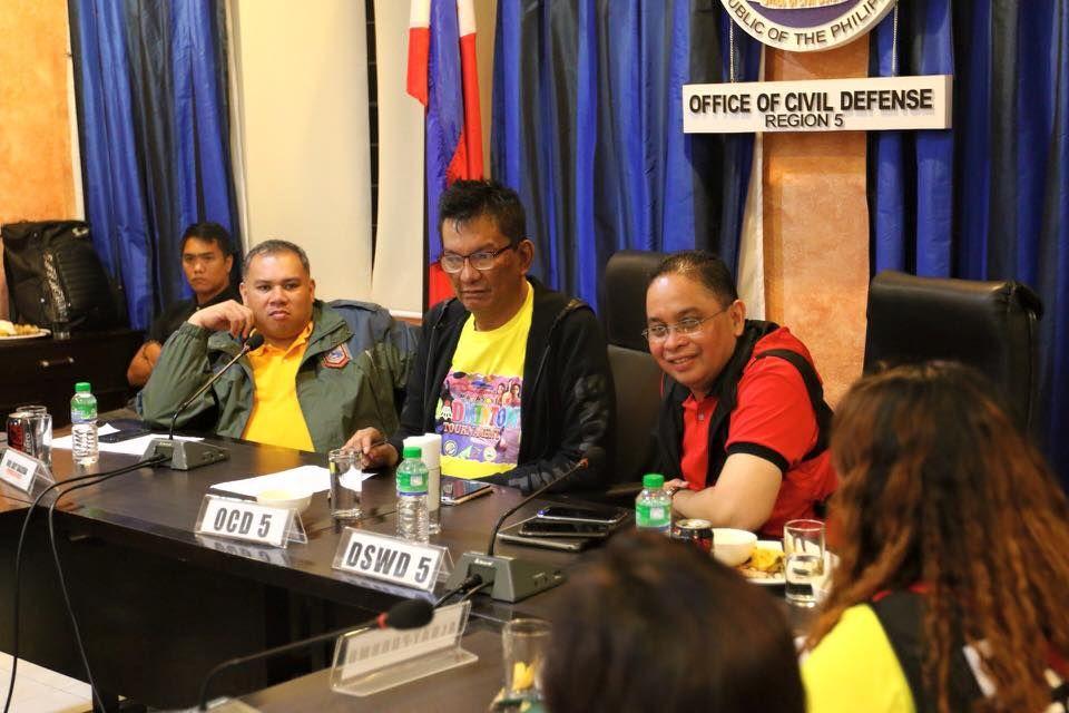 Albay suspends work due to Typhoon Nona #RagnarokConnection