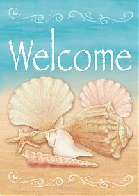 Welcome Shells - Welcome Flags - Flag Addict