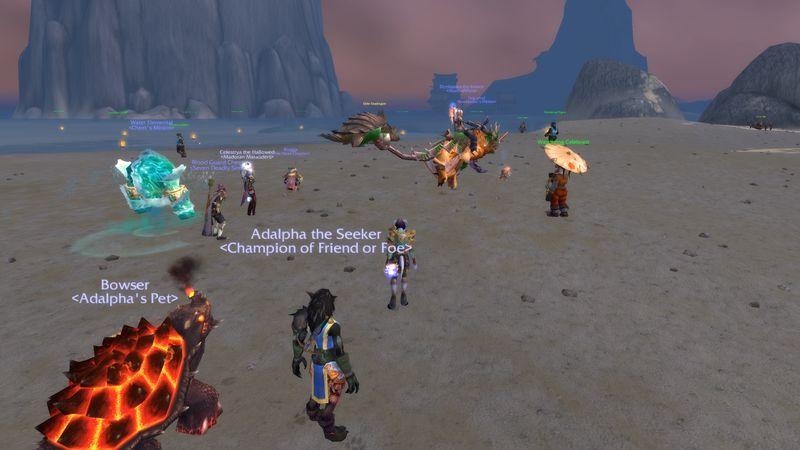 Wanderer S Festival Lights Up Turtle Beach Warcraft Festival