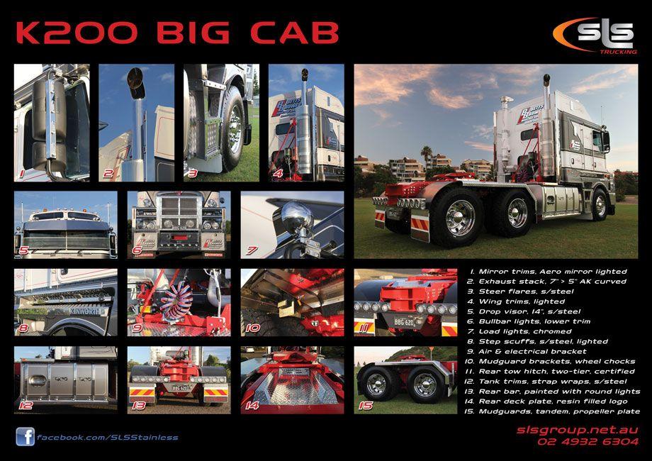 Kenworth K200 Big Cab Camiones Australianos