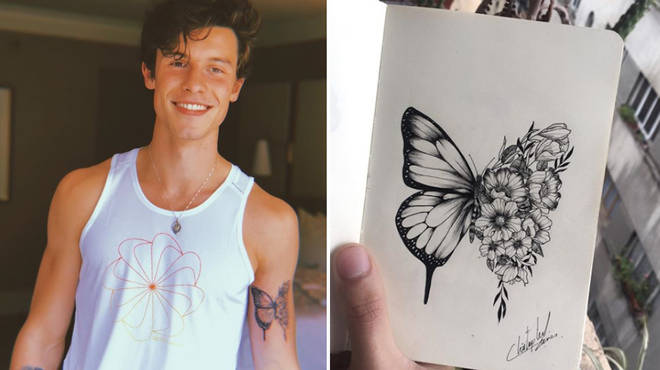 Shawn Mendes New Tattoo The 'Seńorita' Star Gets Inked