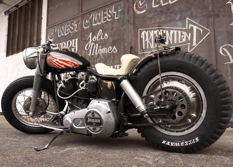 Chop It Like You Stole It Motorcycle Girl Old School Chopper Cafe Racer Girl
