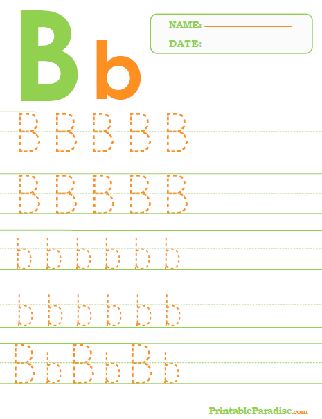 Printable Letter B Tracing Worksheet   Abc   Pinterest   Tracing ...