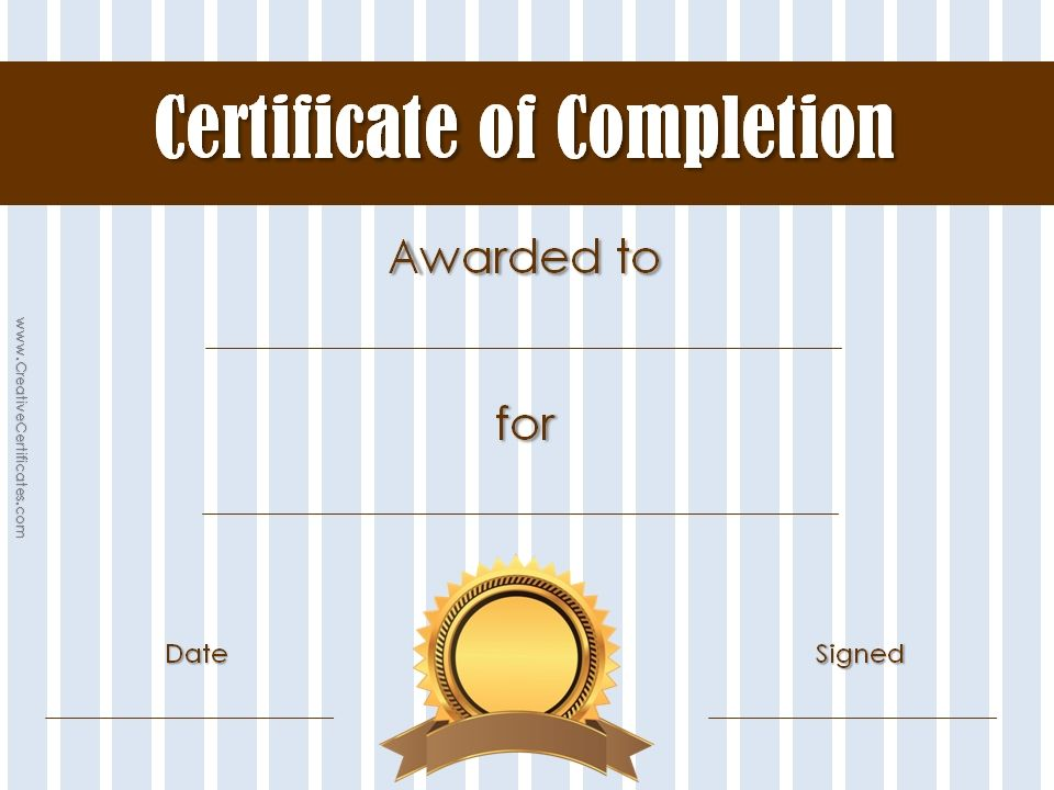 certificate-of-completion-template-31jpg (960×720) certificates - printable certificates of completion
