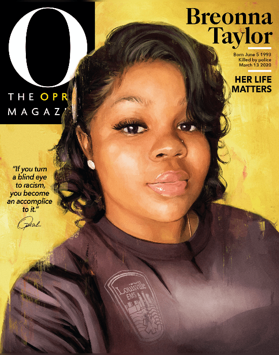 12 Powerful Ways That Celebrities Are Demanding Justice For Breonna Taylor In 2020 O The Oprah Magazine Oprah Winfrey Oprah