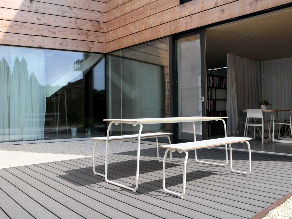Terrassendielen WPC grau Terrassendielen, Moderne