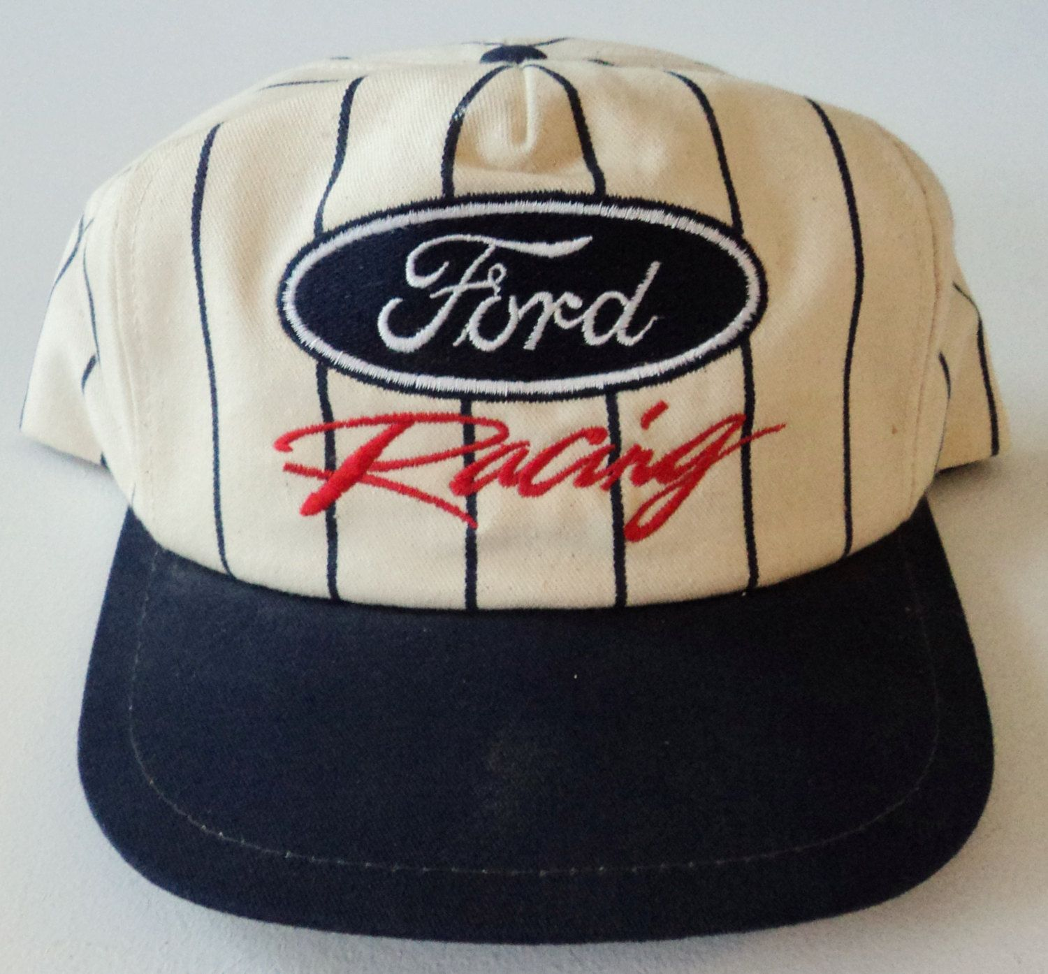 5019f0cd1dfff Vintage Ford Racing Snapback Hat VTG