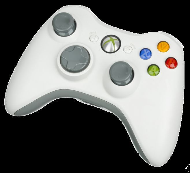 Refurbished Microsoft Xbox 360 Controller Wireless White Like New condition