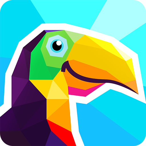 Poly Artbook Puzzle Game V3 0 Mod Apk Unlocked Its Unbelievable Now 2d Polygons Will Look Like A Great 3d Model Fix In Th Puzzle Game Book Art Cute Games