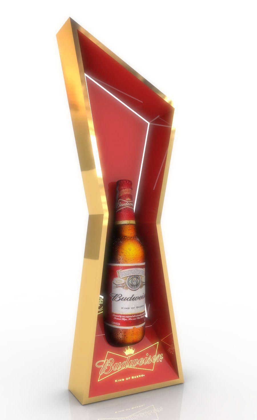Budweiser Posm On Behance In 2020 Budweiser Wine Display Posm