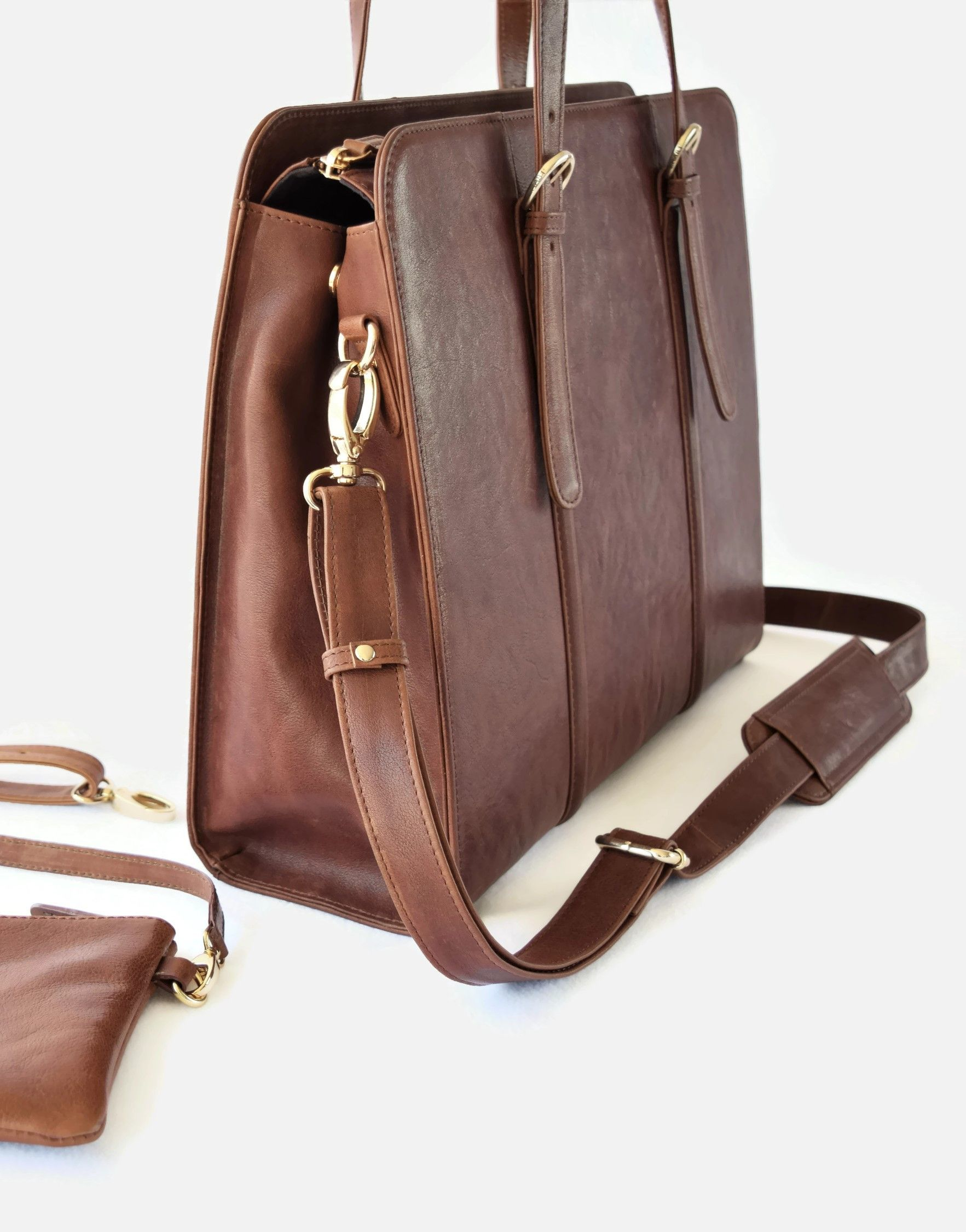Elegant Functional Leather Laptop Briefcase By Era81 Laptop Bag For Women Leather Laptop Bag Laptop Bag